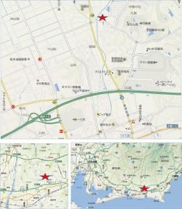 ◆地図杏林堂スーパードラッグストア下山梨店