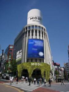 渋谷モディ 全体パース