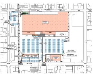 ■配置図  ロイヤルホームセンター津島・アクロスプラザ