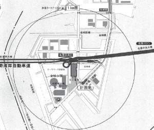 メーカーズピア 広域図