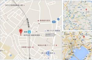 ◇ヤオコー柏高柳駅前店 地図