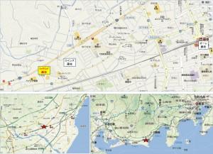 ◇地図 テックランド藤枝店