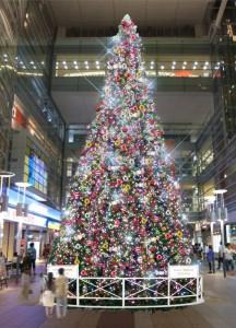 クリスマスツリー 小田急相模大野ステーション