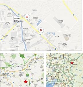 ◆地図-バロー土岐下石店