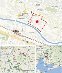 ◇マックスバリュ四本木店 地図