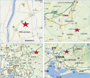 ◇地図 スーパーセンターオークワ瑞浪稲津店