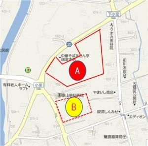 ◇地図詳細図 スーパーセンターオークワ瑞浪稲津店