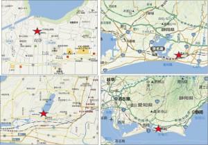 ◆地図 クックマート左鳴湖南店