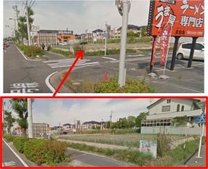 ◇農地側出店予定地 2015年エディオン天白店 (3)
