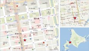 ◇地図 札幌ゼロゲート