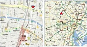 オーケー高田馬場店地図●