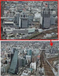 ●JRタワーズより 名古屋グローバルゲート20160214 (3)