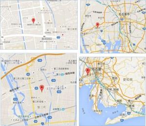 ◇クスリのアオキ蟹江中央店地図