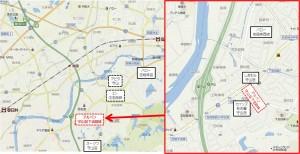 ◇周辺商業施設地図 アルペン守山区志段味商業施設