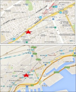 神戸ZERO GATE地図●