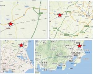 ◇地図 イオンモール水戸内原店