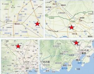 ◇イオンモール太田地図