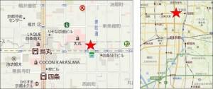 京都ZERO GATE地図●