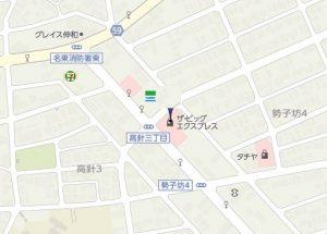フィールクオリテ名東高針店 地図-4