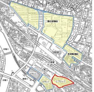 広島駅周辺開発イラスト地図