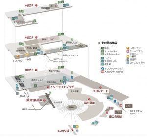 京都鉄道博物館フロア