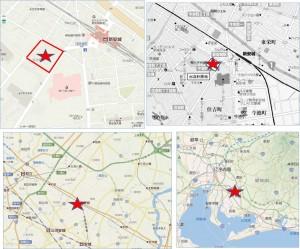 □DCMカーマ安城住吉店 地図-1
