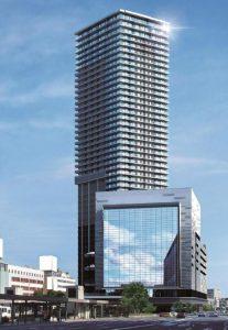 ◆広島駅周辺開発パース
