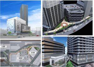 ◆パース広島駅周辺開発パース-Cブロック