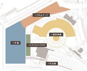 京都鉄道博物館展示車両紹介図