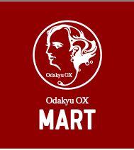 ロゴ Odakyu OX MART 新百合ヶ丘店パース