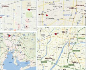 ◇地図 岐阜市科学館