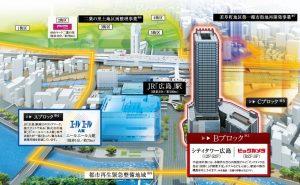 ■広島駅南口Cブロック再開発 パース