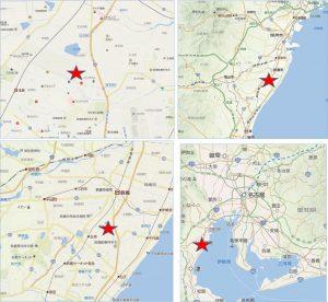 ◆地図 イオンタウン鈴鹿南玉垣