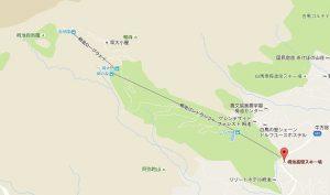 地図 麓から自然園全体図
