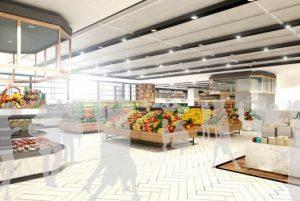 アトレ品川3階Rスーパーマーケットパース