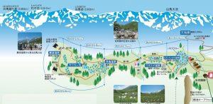 栂池自然園マップ-2自然園全体