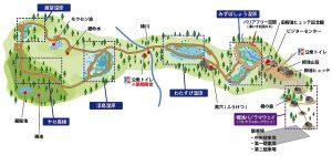 栂池自然園全体図