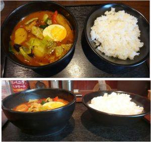 ★ローストチキンと野菜のカレー20160731COCO壱番屋岡崎矢作店 (4)